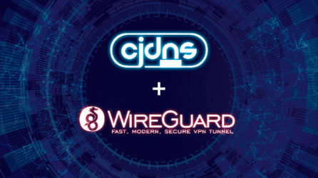 Cjdns Version 22 with Wireguard Based Encryption, Pt 1